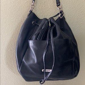 Coach bucket bag leather